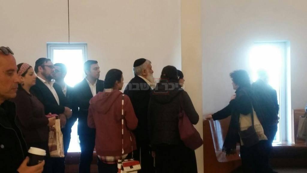 אלי שמחיוף ומשפחתו בביהמ