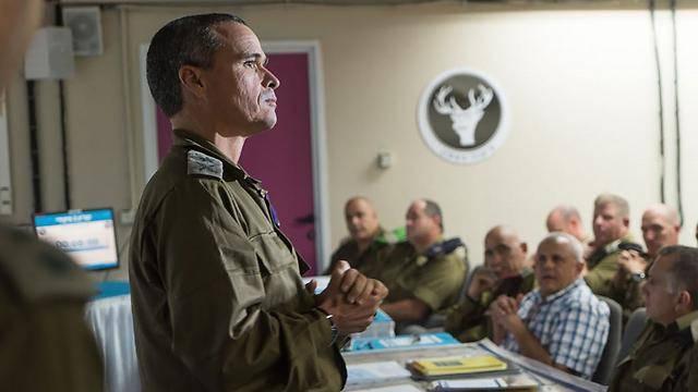 מפקד פיקוד צפון אלוף יואל סטריק (צילום: דובר צה''ל)