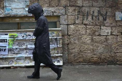 חורף בירושלים (צילום: חיים גולדברג, כיכר השבת)