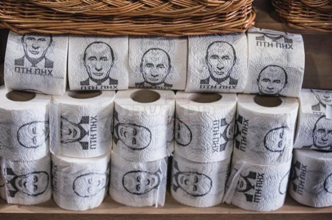 באוקראינה פחות אוהבים את פוטין...