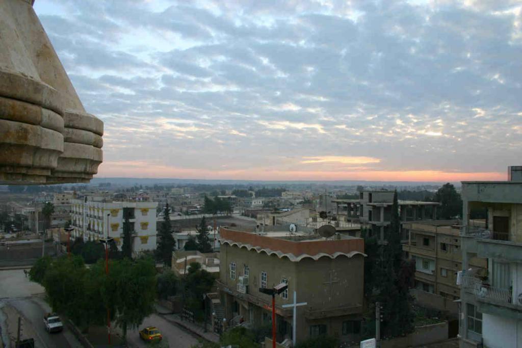 בירת דאעש א-ראקה. ארכיון (צילום: מתוך ויקיפדיה)