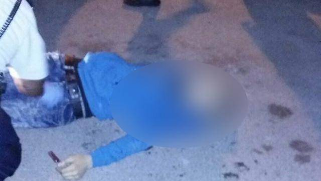 אחד המחבלים לאחר החיסול (צילום: מתוך ynet)