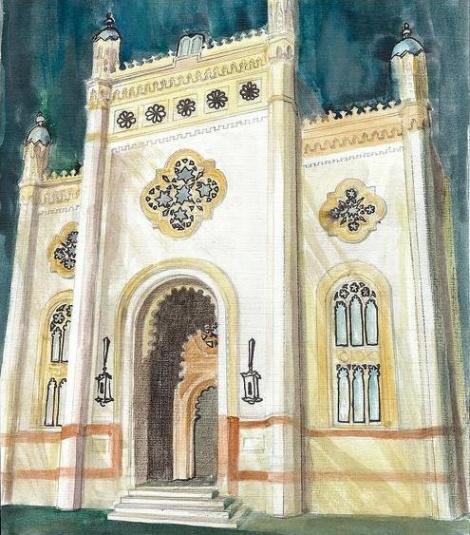 בית הכנסת בעיר בוקרסט רומניה