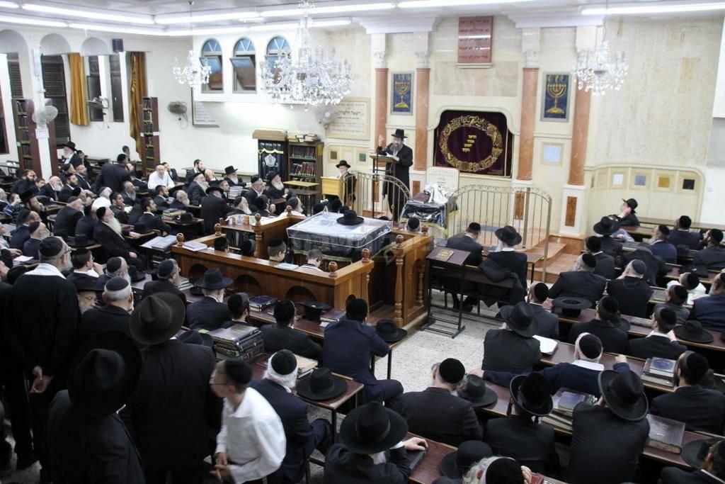 היכל בית הכנסת המרכזי ברמת אלחנן (צילום: בעריש פילמר)