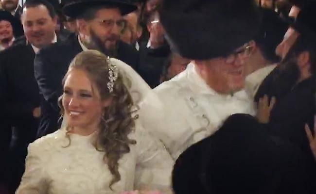 הזוג המאושר (באדיבות המצלם)