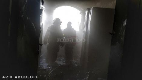 (צילום: אריק אבולוף, כבאות והצלה ירושלים)