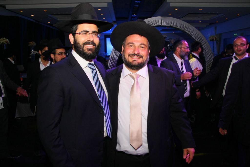 ראש העיר והרב ינון רביב