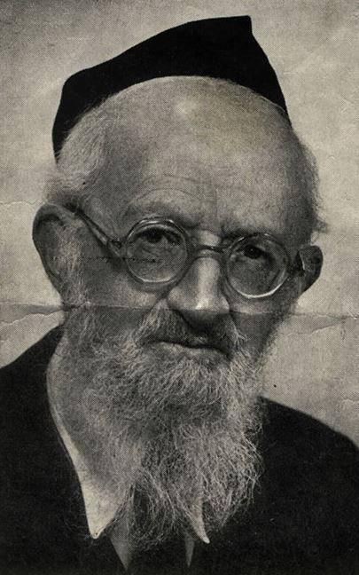 הרב עקיבא פוזנר (מתוך אתר יד ושם)