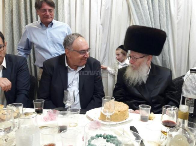 """לימצמן ומנכ""""ל 'הדסה' פרופ' זאב רוטשטיין"""