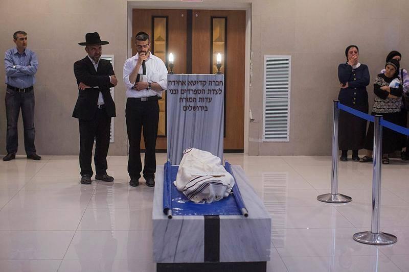 הלווית הילד שנהרג בירושלים (צילום: יונתן זינדל, פלאש 90)
