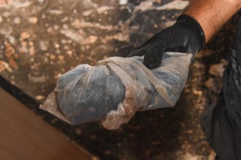 כלי הנשק שנתפסו (צילום: דוברות המשטרה)