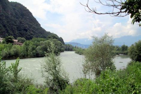 בולזאנו, נהר איסרקו