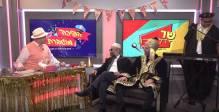 חאפלה פורימית: מנחם טוקר חוגג פורים עם משה אבוטבול