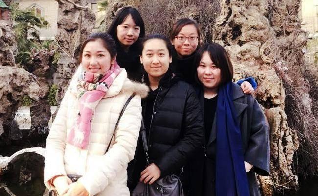 חמש הצעירות (צילום: טוביה גרינג, שליח ארגון