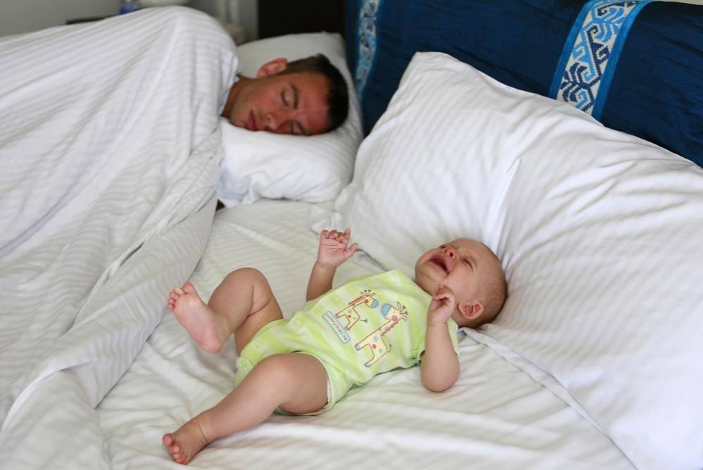 תינוקות לא משפיעים על שנת האבות (צילום: שאטרסטוק)