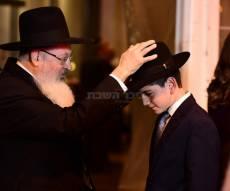 צפו בגלריה: שמחת בר-מצוה לבנו של הרב מיכאל פנחסי