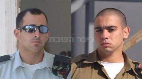 החייל ומפקדו, בבית המשפט (צילום: מוטי קמחי, ynet)