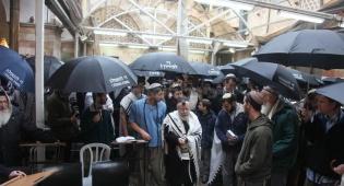 כיכר היום: מחאה, תחת מטריה אחת