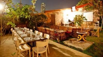 מסעדה פסטורלית למהדרין בלב תל אביב. צילום: יחצ
