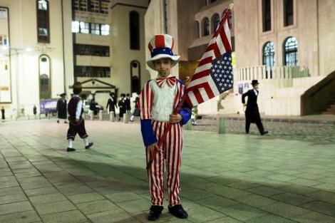 נתניהו, כאן לא מסוכסכים עם ארצות הברית. פורים בויז'ניץ (צילום: אמיר לוי, פלאש 90)