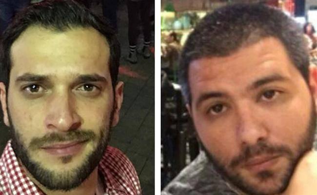 הנרצחים: שמעון רוימי ואלון בקל (מתוך פייסבוק)