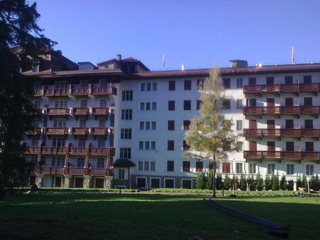 מלון וילאר בשוויץ.