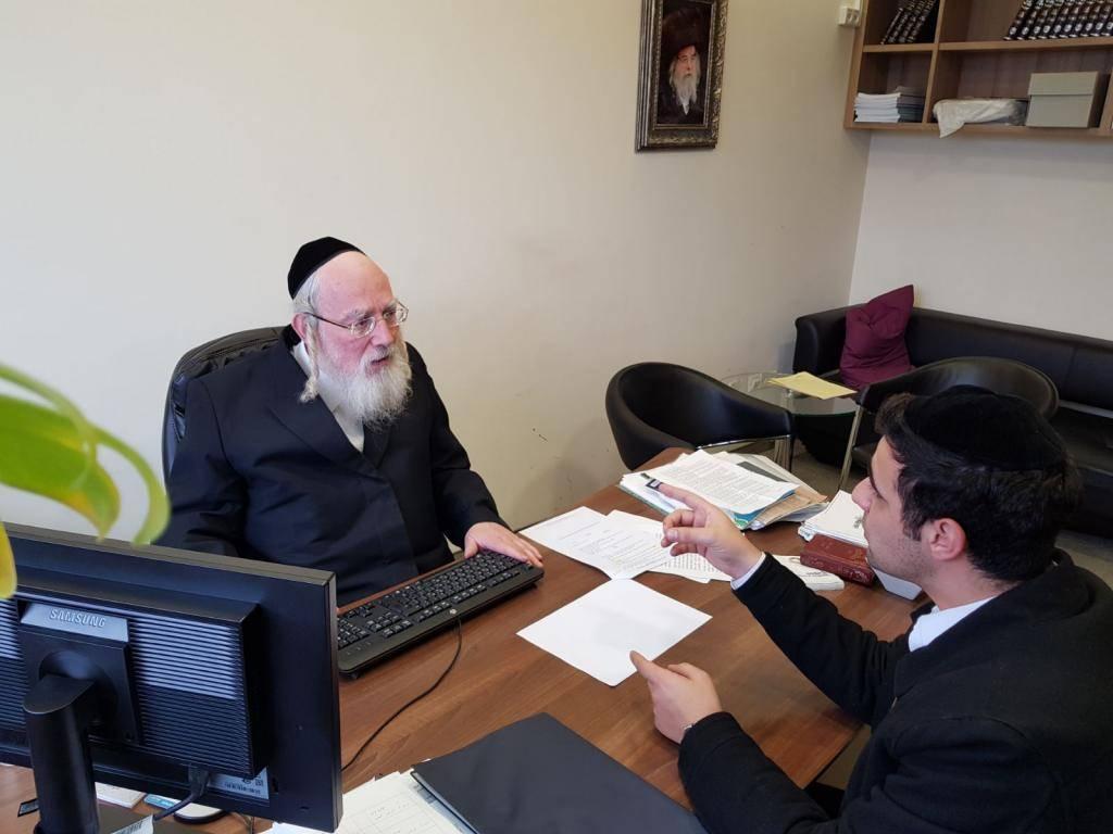 ח''כ ישראל אייכלר בראיון לכתב ''כיכר השבת'' ישי כהן