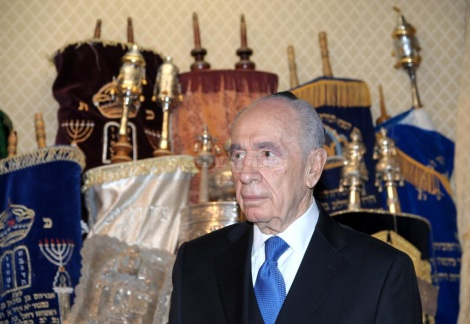 פרס בביקור בספרד ב-2011. בפגישה עם חברי הקהילה היהודית של מדריד