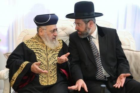 קשר אישי עם הרבנים הראשיים (צילום: יעקב כהן)