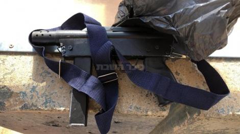 """הנשק שנתפס, צילום: דובר צה""""ל"""