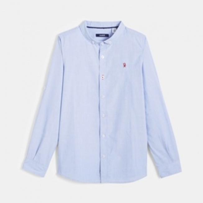 חולצה מכופתרת ממותג okaidi  מחיר מדבקה- 119.90 ₪, מחיר לאחר הנחה 71.94 ₪