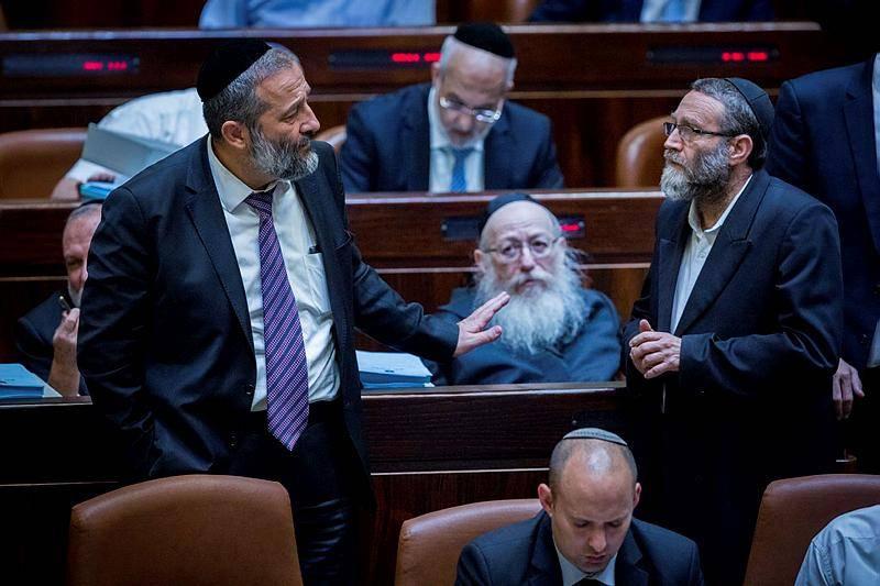 גפני, ליצמן ודרעי. יותר ישראלים, פחות דואגים לאינטרס החרדי (צילום: יונתן זינדל, פלאש 90)