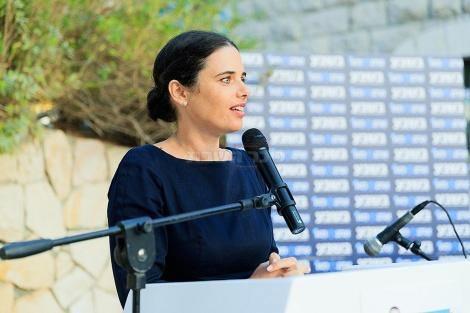 איילת שקד (צילום: שלום לביא)
