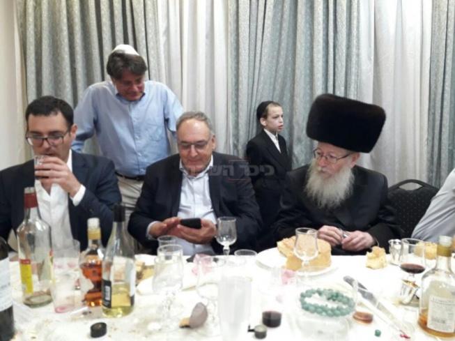 """ליצמן, רוטשטיין ומנכ""""ל משרד הבריאות משה בר סימן טוב"""