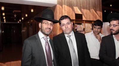 משמאל, ראובן זכאים יעקב ישראל עמאר