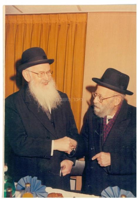 """עם רבה של ירושלים הגאון רבי שלום משאש שצ""""ל"""