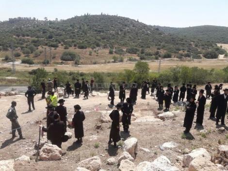 (צילום: ישראל פרוש, מחאות החרדים הקיצוניים)
