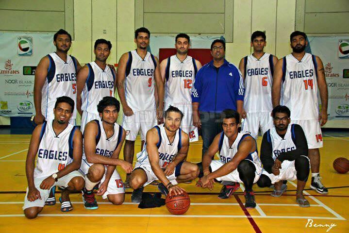 צילום:  מתוך הפייסבוק Eagles DUBAI Basketball Team (צילום: יובל רוסמן)