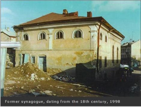 בית הכנסת בעיר בוצאץ