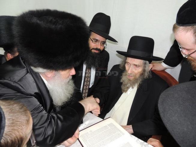 הרב שטיינמן וחנוך זייברט