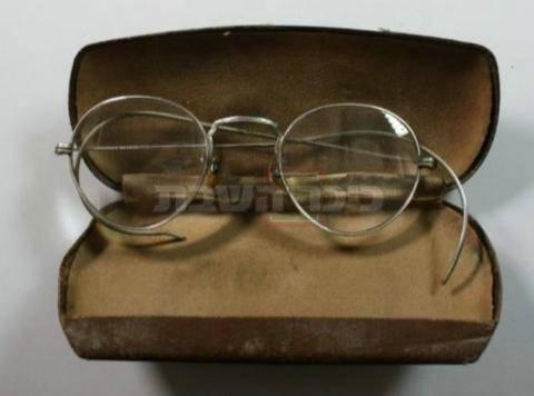 משקפי החזון איש (צילום: ירושלים של זהב)