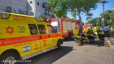 (צילום: אריק אבולוף, דוברות כיבוי והצלה ירושלים)