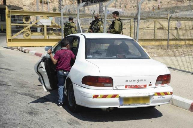חילוץ של יד לאחים מתחומי הרשות הפלסטינית.