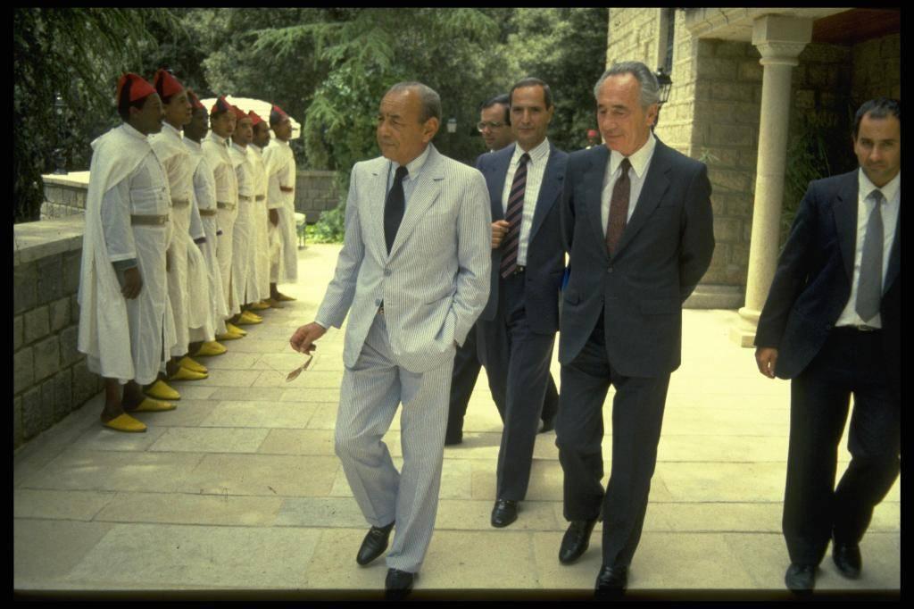 עם מלך מרוקו (צילום: HARNIK NATI לע