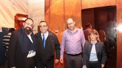 השופטים: משמאל, יוסי אליטוב, ניצן חן, אלעד טנא, נורית דאבוש