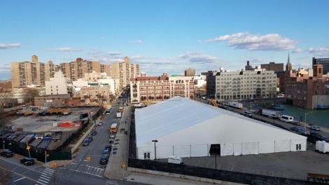 """אוהל הענק בסאטמר מהרי""""י: (צילום:ללא קרדיט)"""