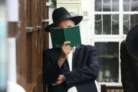 הסליחות ב'שושנים לדוד' (צילום: חיים גולדברג, כיכר השבת)
