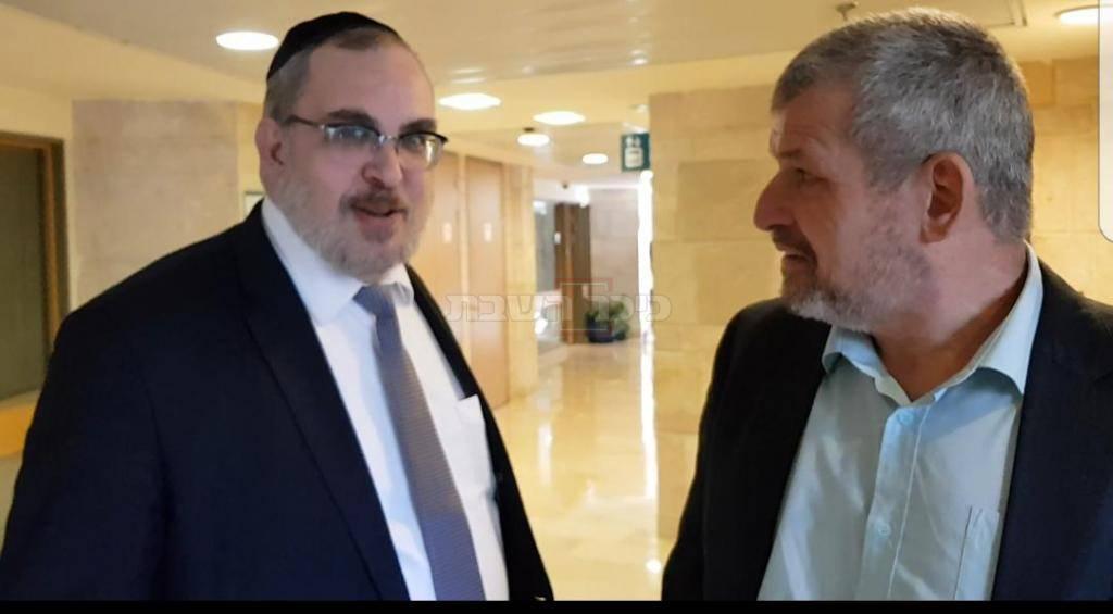 חברי הכנסת רוזנטל ואשר בראיון ל''כיכר השבת''