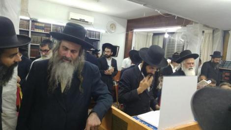 הרב שמואל שטרן, ראש ישיבת נחלי נצח - ברסלב בירושלים