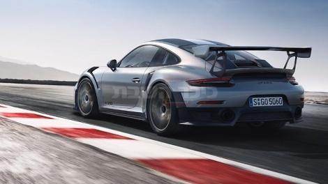 """פורשה 911 GT2 (צילום: יח""""ץ חברה)"""